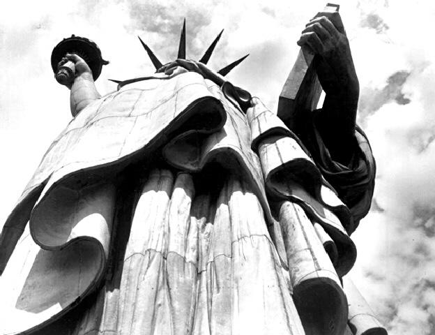 Statue of Liberty, New York City (?Time Inc.) Gelatin Silver print
