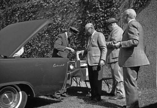 Tailgating, Yale Football, 1963<br/>