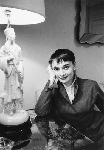 Audrey Hepburn, She was playing in Colette's Gelatin Silver print