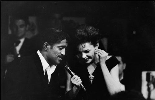Sammy Davis Jr. and Judy Garland<br/>