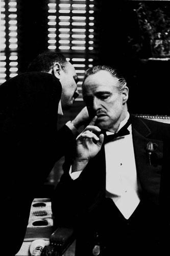 The Whisper, The Godfather Gelatin Silver print