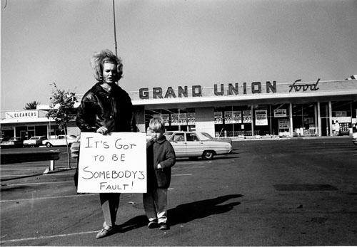 Supermarket Protests, New Jersey, 1963 Gelatin Silver print
