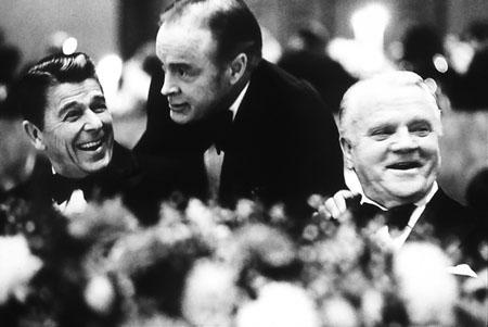 Ronald Reagan, Bob Hope, James Cagney - American Film Institute Tribute to Cagney, Los Angeles, 1974 Archival Pigment Print