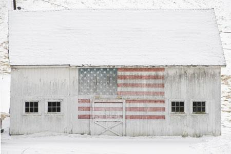 White Barn, New Preston, CT, 2007 Archival Pigment Print