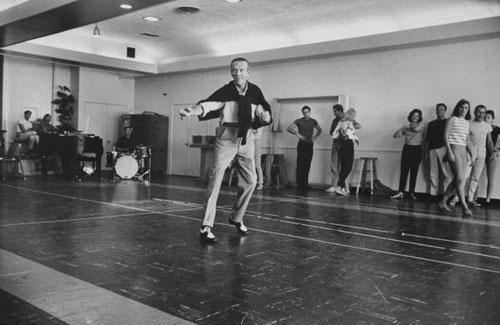 Fred Astaire rehearsing for his TV show, 1960 Archival Pigment Print