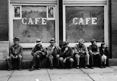 Cafe in Pikesville, Tennessee, 1936 (for the Farm Security Administration) ?Time Inc. Gelatin Silver print