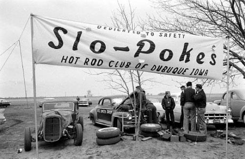 Slo-Pokes Hot Rod Club<br/>Please contact Gallery for price