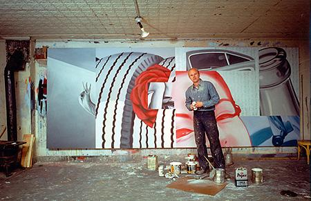 James Rosenquist, 1962 Chromogenic print