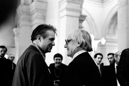 Francis Bacon and william De Kooning, The Metropolitan Museum of Art, 1974 Gelatin Silver print