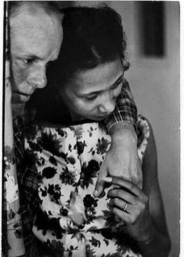 Richard and Mildred Loving, 1965 Archival Pigment Print