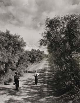 Going Fishing, Texas, 1952   by John Dominis - Time Inc. Gelatin Silver print