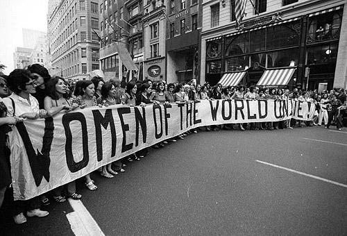 Women's Rights March, New York, 1994<br/>