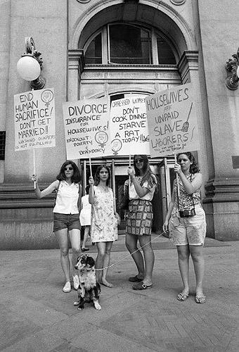 Women's Liberation, New York, August, 1970<br/>
