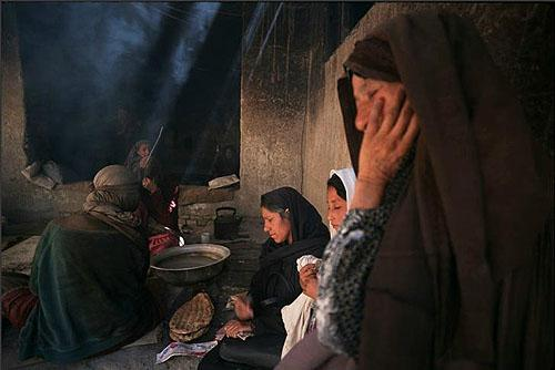 Under Taliban: Widow's Bakery, Afghanistan, 1998<br/>