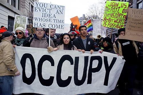 Occupy Protest, New York, 2011<br/>
