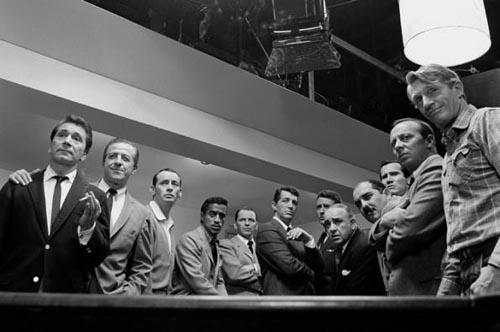 "The cast of  ""Ocean's 11"", 1960<br/>"