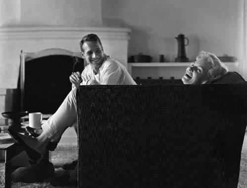 "Paul Newman and Joanne Woodward, ""Domestic Bliss"", 1958 Archival Pigment Print"