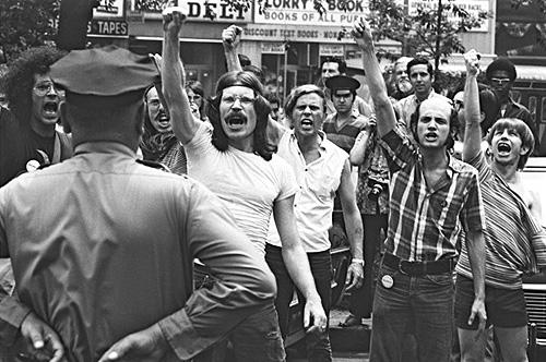 Commemoration of the 1969 Stonewall riots in Greenwich Village, New York, 1971 Archival Pigment Print