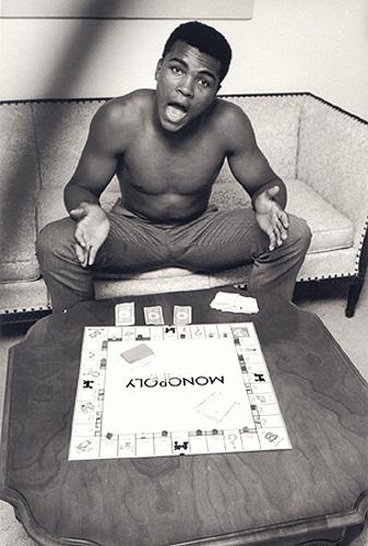 Muhammad Ali (Cassius Clay - Monopoly), Louisville, Kentucky, 1963 Gelatin Silver print