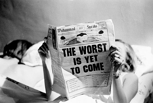 The Worst is Yet to Come, New York, c. 1968 Gelatin Silver print