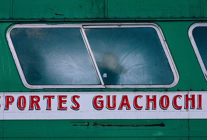 Bus Rider, Copper Canyon, Mexico, 1988 Archival Pigment Print