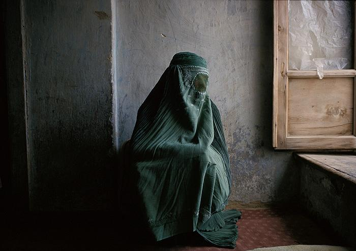 Woman at Home, Kabul, Afghanistan, 1997 Archival Pigment Print