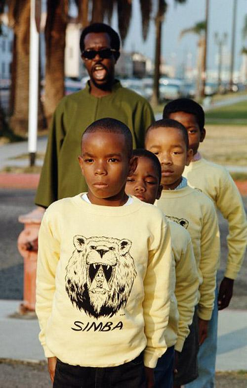 "Black Panthers, ""Simba', Watts, 1966 Chromogenic print"