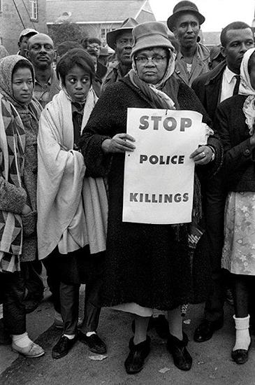"""Stop Police Killings"", Selma March, 1965<br/>"