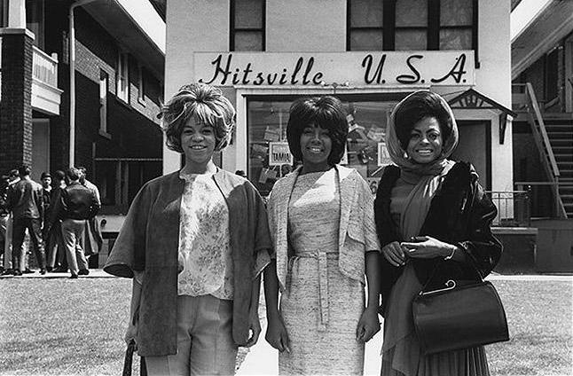 The Supremes, Hitsville, Detroit, 1965<br/>