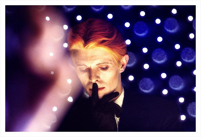 "David Bowie, ""The Man Who Fell To Earth"", New Mexico, 1975 Archival Pigment Print"