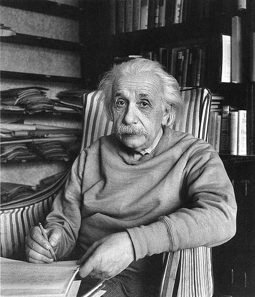 Albert Einstein, Princeton, New Jersey, 1947<br/>