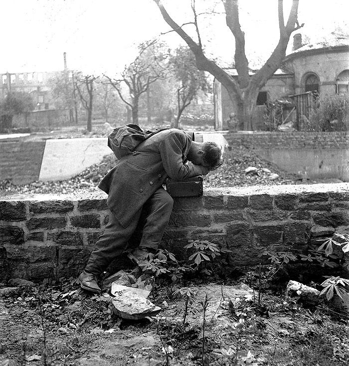 Defeated Soldier, Frankfurt, Germany, 1947<br/>