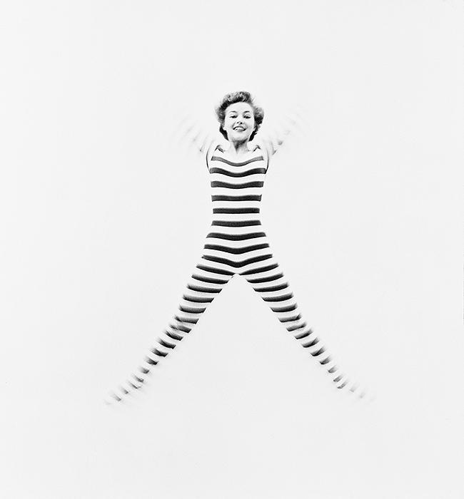 "Debbie Reynolds, ""Joy"" for Flair, NYC, 1951 Gelatin Silver print"