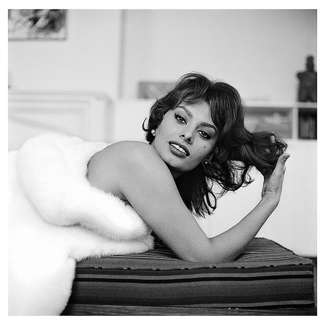 Sophia Loren, New York,1959<br/>