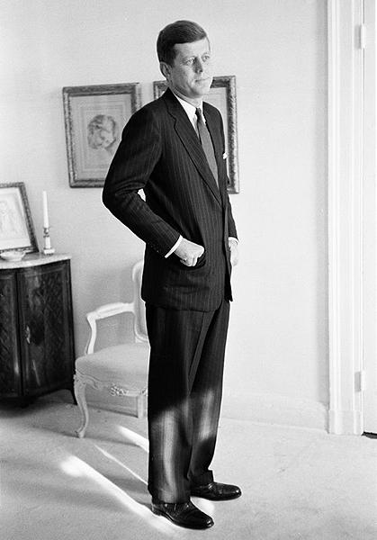 John F Kennedy, Washington, DC, 1960<br/>