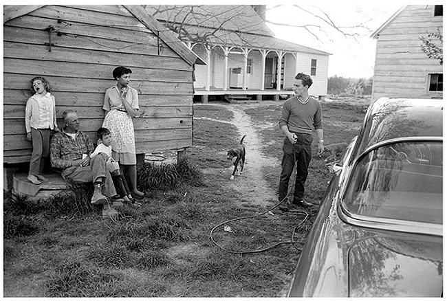 The Lovings with neighbor, 1965 Archival Pigment Print