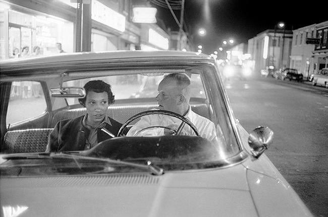 Mildred and Richard Loving driving, 1965 Archival Pigment Print