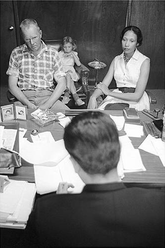 The Lovings with their attorneys, 1965 Archival Pigment Print