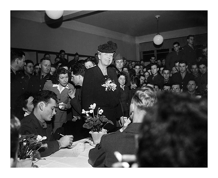 Eleanor Roosevelt, Berlin Germany, 1946 Archival Pigment Print