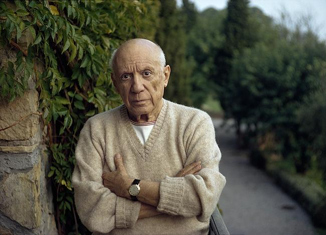 Pablo Picasso, Mougins, France, 1966<br/>