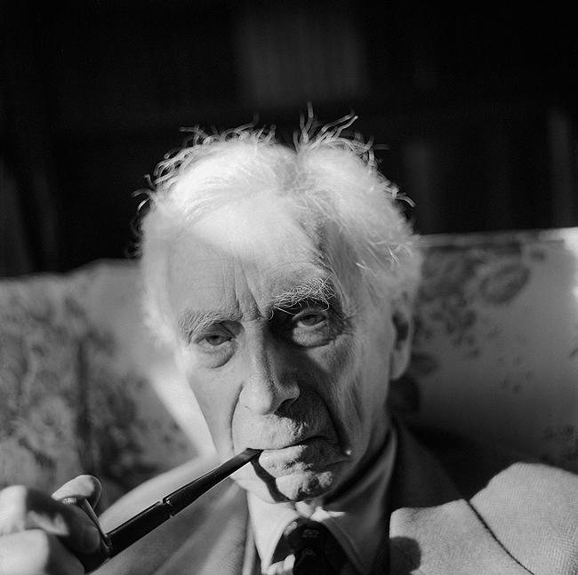 Bertrand Russell, Wales, 1964<br/>