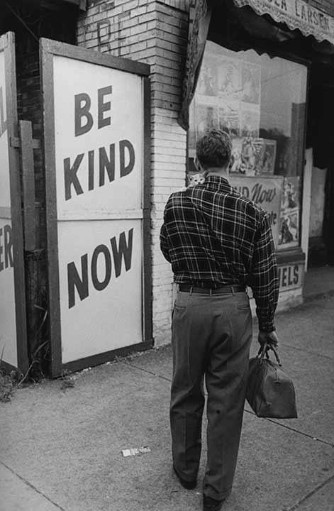 """Be Kind Now"", 1950<br/>"