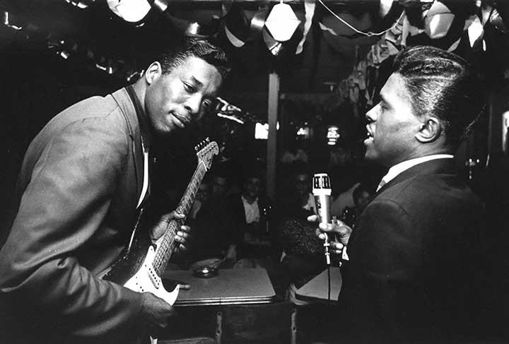 Buddy Guy and Junior Wells, 1966<br/>
