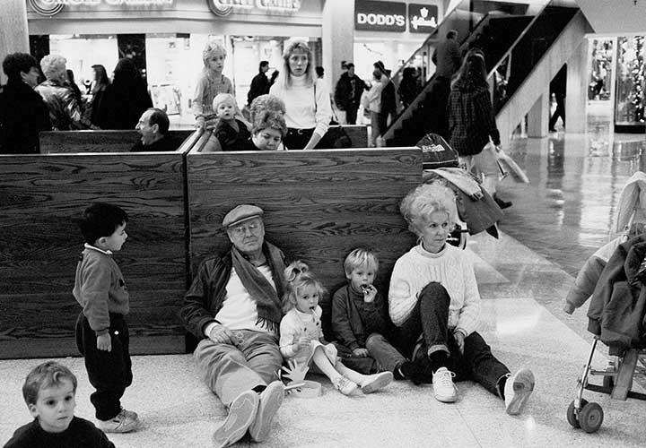 Grandparents Rest Stop, Northbrook Mall, 1961<br/>