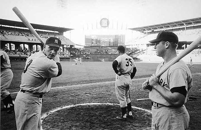 Roger Maris and Mickey Mantle, 1961<br/>