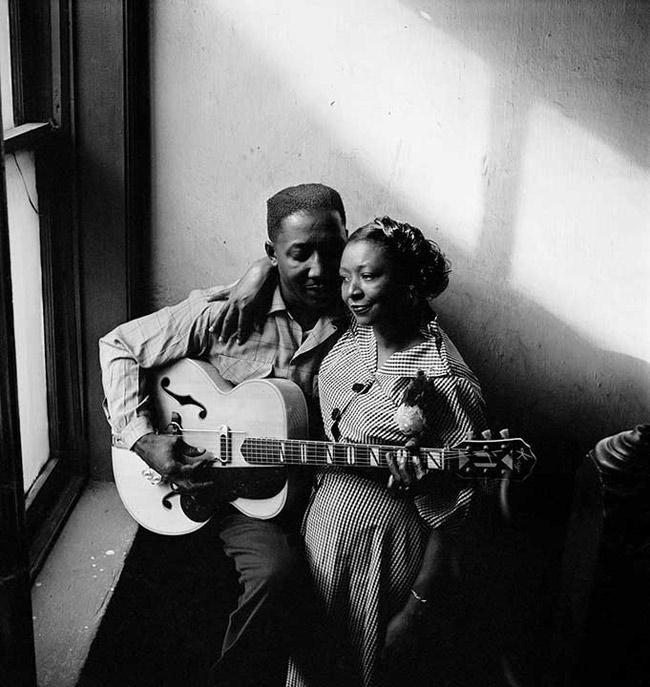 Muddy Waters and his wife, Geneva, 1950<br/>