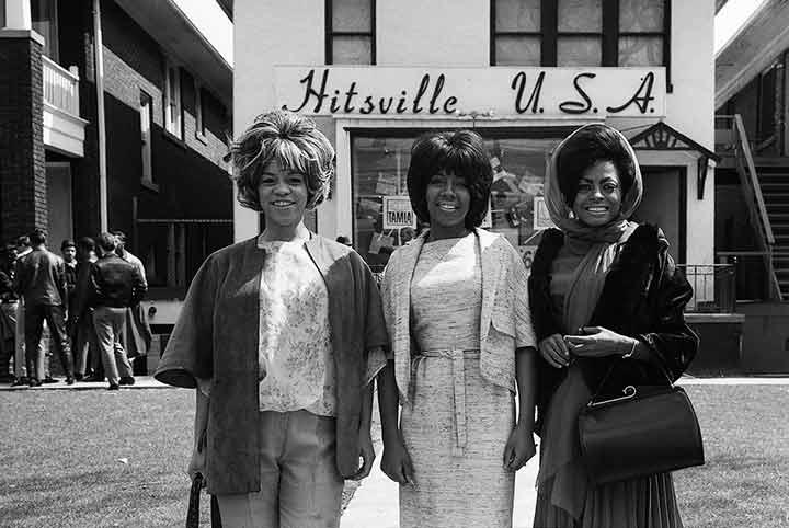 "The Supremes, ""Hitsville"", Detroit, 1965<br/>"