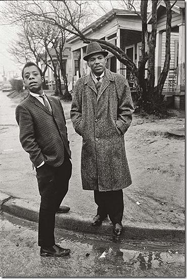 James Baldwin with activist James Meredith, Jackson, Mississippi, in 1963, a year after Meredith became the first African American    student admitted to the University of Mississippi Gelatin Silver print
