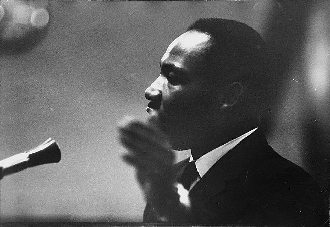 Martin Luther King, Dexter Avenue Baptist Church in Montgomery, Alabama, 1955<br/>
