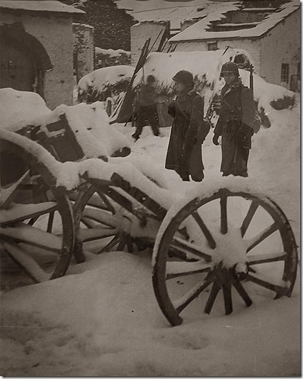 Battle of Ardennes, Near Ottre, Belgium., 1944<br/>